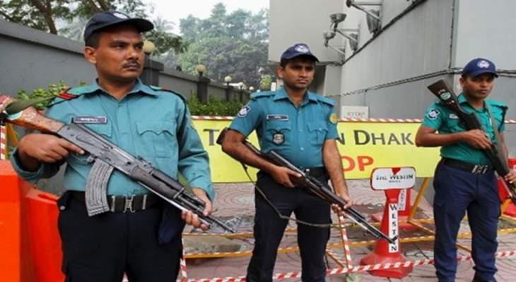 شرطة بنغلادش تطلق الرصاص المطاطي والغاز المسيل للدموع على محتجين