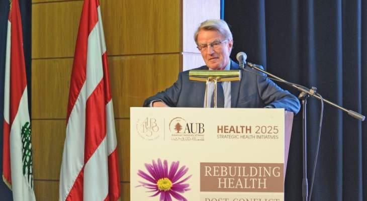 كوشنير: لا يمكن تصور صحة عالمية من دون تطوير