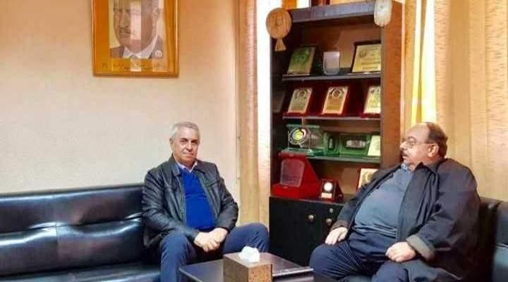زهير الخطيب يلتقي مع حزب الاتحاد: للإسراع بتشكيل الحكومة لمواجهة الاستحقاقات
