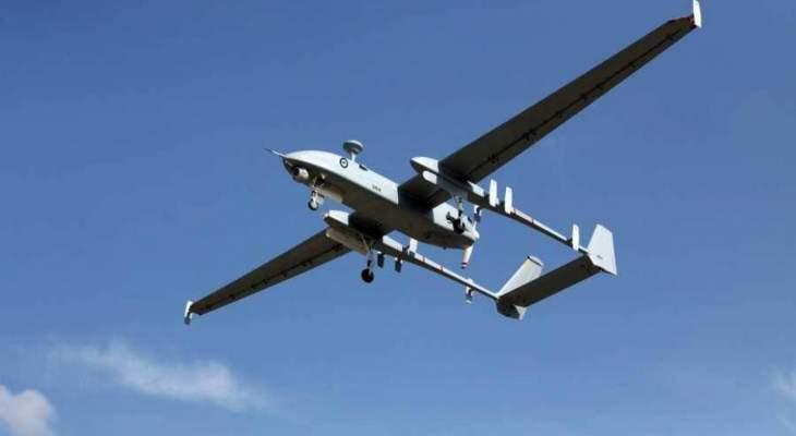 النشرة: طائرة استطلاع إسرائيلية تنفذ طلعات استكشافية فوق العرقوب