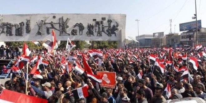 تواصل الاحتجاجات والتظاهرات في العراق رغم قرار رئيس الوزراء بالاستقالة