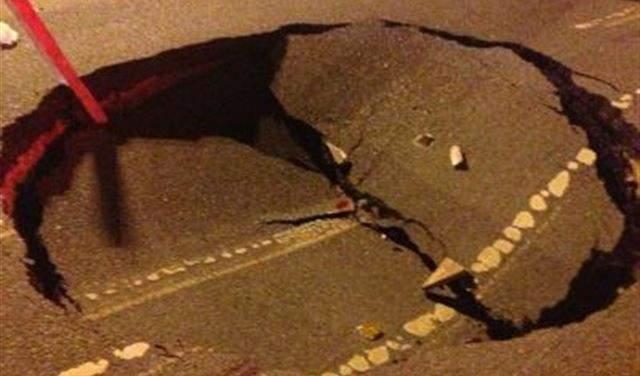 النشرة: انهيار حائط كبير على الطريق في ذوق مصبح