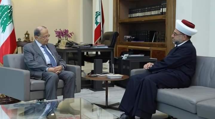 عبد الرزاق زار الرئيس عون: للمضي قدماب مشروع الاصلاح ومحاربة الفساد