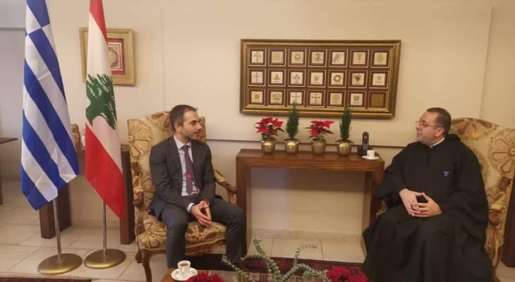 الأب بوعبود: لبنان بحاجة إلى نهضة فكرية وفنية رغم الظروف الصعبة