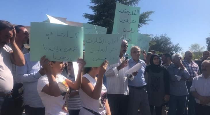 النشرة: عمال البناء في الهرمل والجوار نفذوا اعتصاما احتجاجا على تعطل أعمال البناء