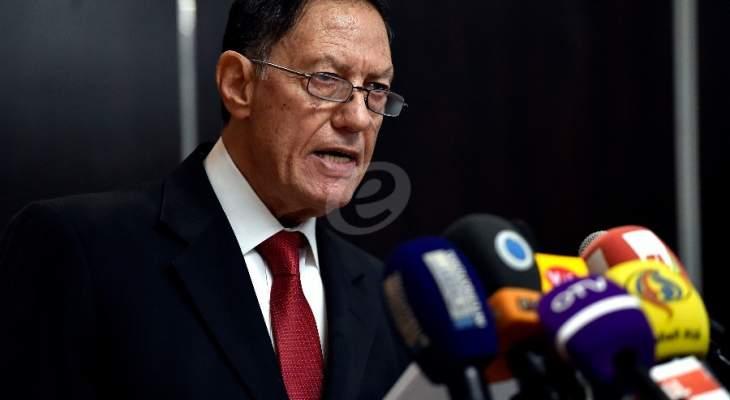القاضي عبد الملك سلم سليمان تقرير الانتخابات الفرعية بطرابلس