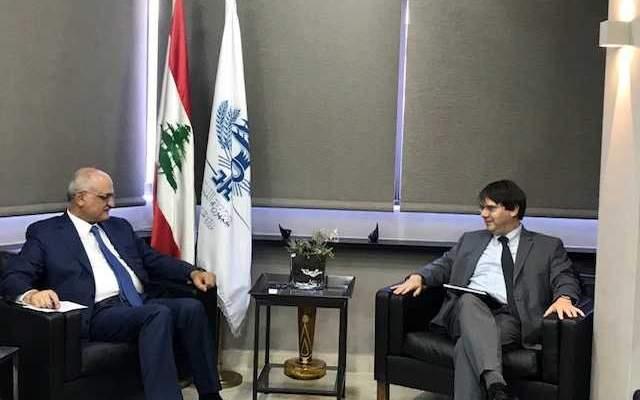 وزير المال عرض مع وفد من صندوق النقد الدولي الوضع الاقتصادي والمالي