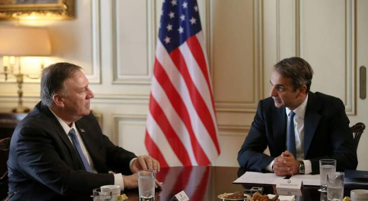 رئيس وزراء اليونان لبومبيو: تركيا تنتهك حقوق قبرص السيادية