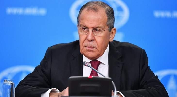 لافروف: النزعة الإنهزامية غير مقبولة ورئيس الدولة ملزم بالحفاظ على القوى النووية متأهبة