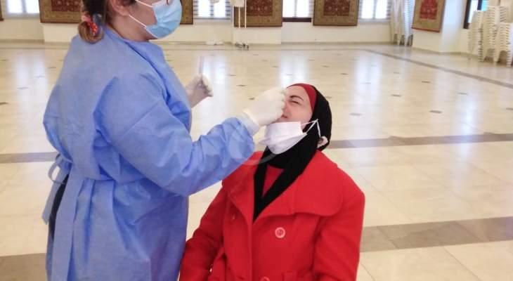 """النشرة: فريق من وزارة الصحة أجرى فحوص """"PCR"""" لـ50 مخالطا في حاصبيا والمنطقة"""