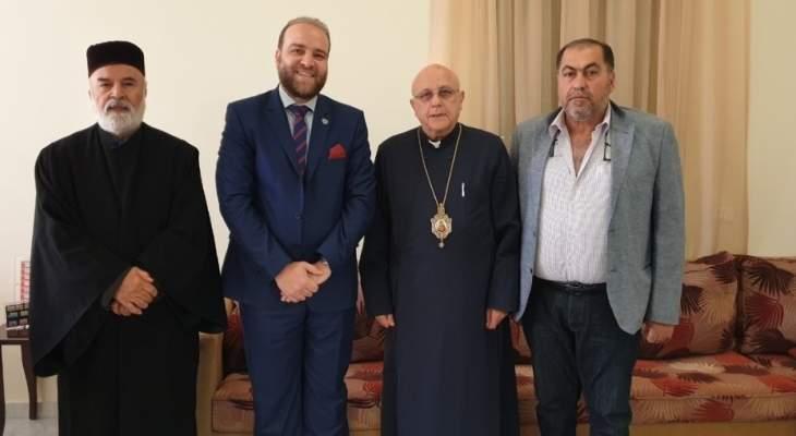 المطران درويش تلقى دعوة للمشاركة بلقاء بذكرى اختطاف موسى الصدر