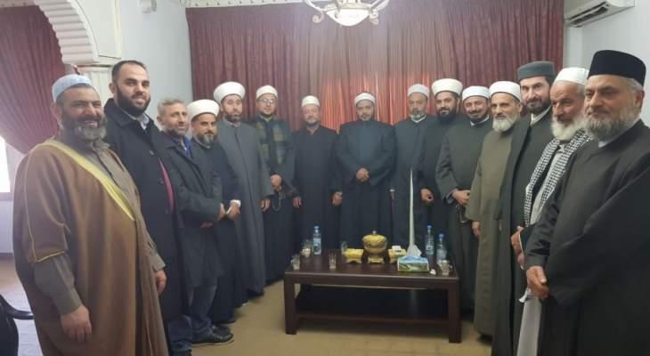 إجتماع طارئ لعلماء حاصبيا ومرجعيون تضامنا مع فلسطين والقدس