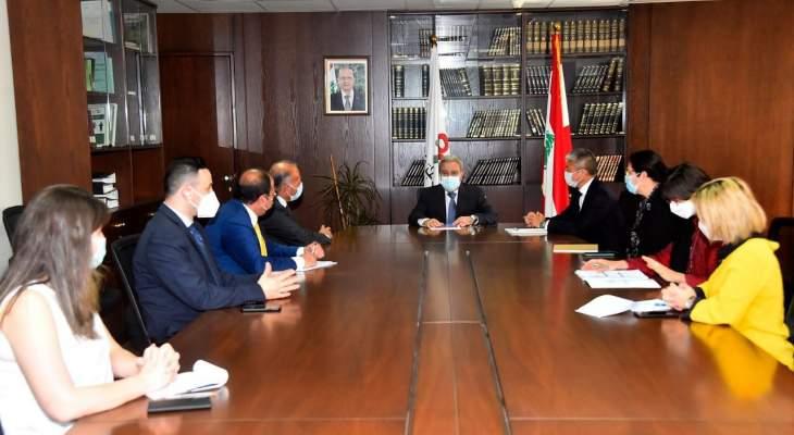 المشرفية: تعاون الحكومة اللبنانية مع الأمم المتحدة مفتاح نجاح الـ LCRP
