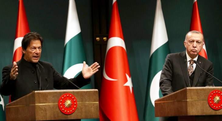 رئيس وزراء باكستان: نقف إلى جانب تركيا ضد الهجمات التي تتعرض لها بسوريا