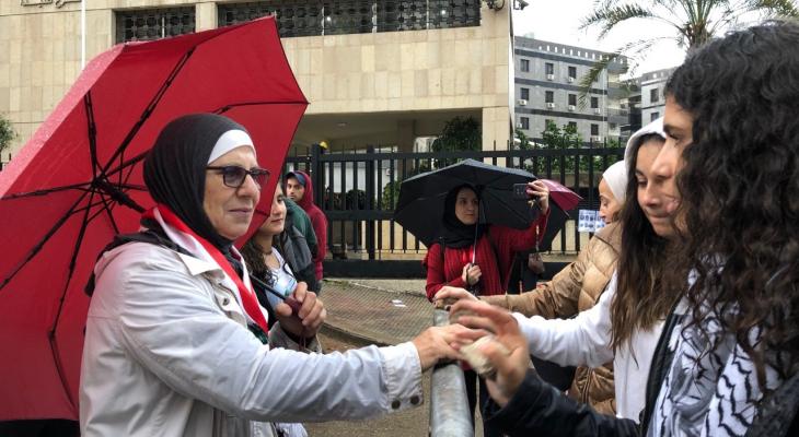 النشرة: وقفة احتجاجية امام مصرف لبنان بصيدا رفضا لسياسية الحاكم