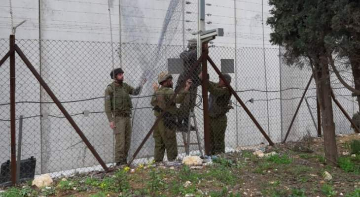 النشرة: قوة إسرائيلية مشطت الطريق العسكري ما بين تلال الوزاني ووادي العسل