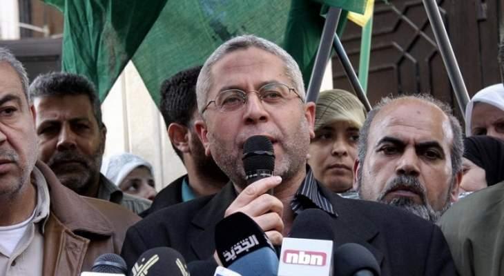 مرة: قدرات المقاومة الفلسطينية قوية ولا نطلب من احد اليوم ان يتدخل