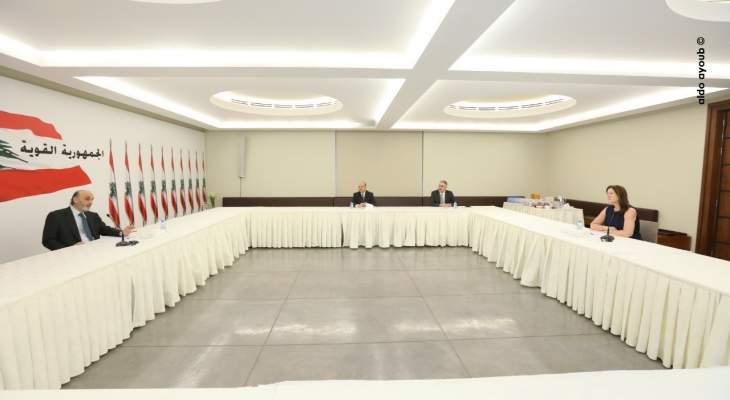 جعجع التقى السفيرة الاميركية وبحث معها آخر التطورات السياسية والاقتصادية