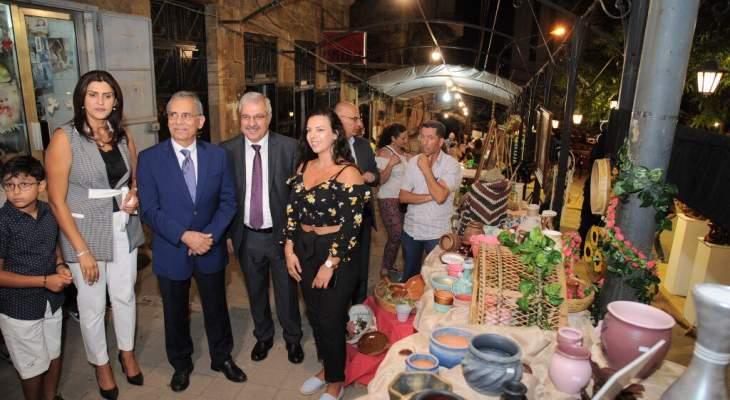 لجنة جبران الوطنية افتتحت مهرجان على خطى جبران في بشري