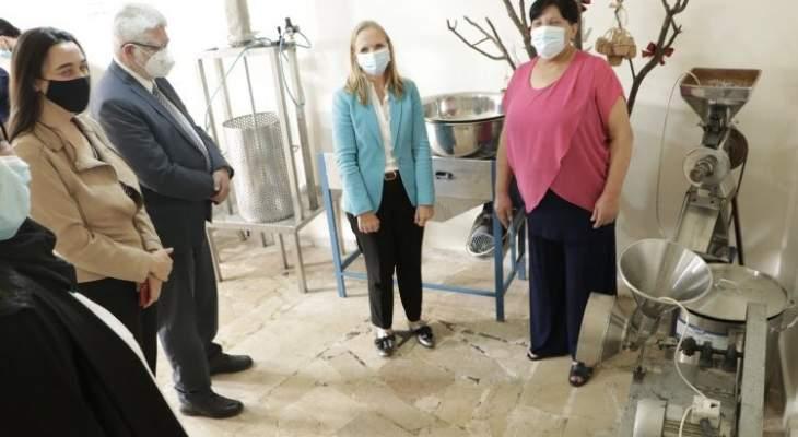 سفيرة كندا: 5 مليون دولار لمنظمة الأغذية والزراعة بلبنان وملتزمون بدعم الشعب اللبناني