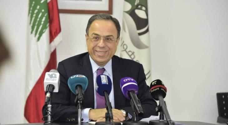 بطيش: ننتظر طرح الموزانة على مجلس الوزراء لنناقش كل الافكار والمقترحات