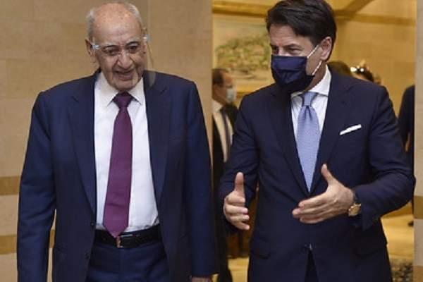 بري التقى رئيس الوزراء الايطالي والوفد المرافق