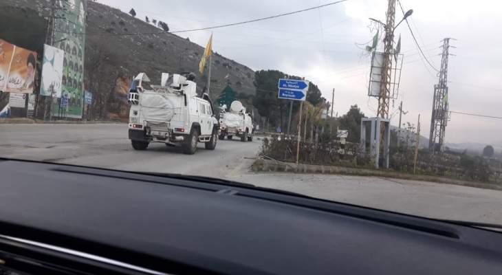 النشرة: دورية إسرائيلية تفقدت الطريق العسكري ما بين العديسة والمطلة