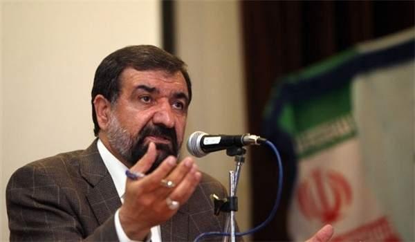 محسن رضائي: لديي برامج تتعلق بالعمل والتعامل التجاري مع 15 دولة جارة لإيران