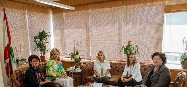 شدياق بحثت مع وفد من الهيئة الوطنية لشؤون المرأة اللبنانية بالقوانين المتعلقة بالمرأة