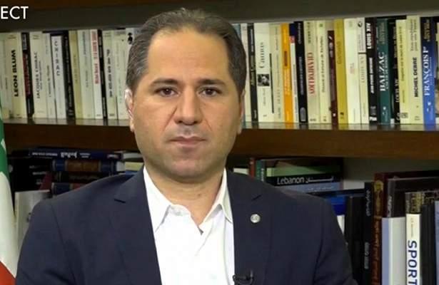 سامي الجميل: رحم الله شهداء الجيش الذي لا يتردد بمواجهة الإرهاب المحرَك بتوقيت مشبوه