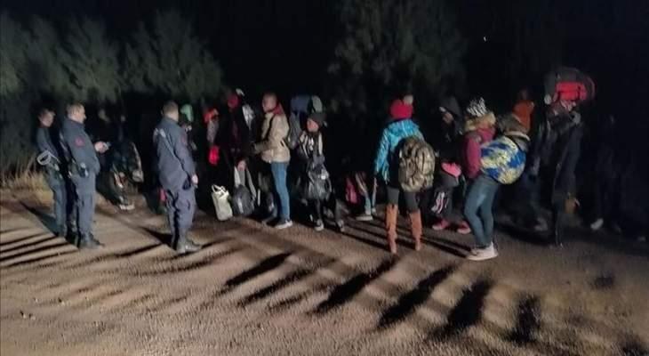 خفر السواحل التركي أوقف 126 مهاجرا غير شرعي في إزمير أثناء محاولتهم التسلل خارج البلاد