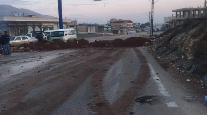النشرة: الجيش اللبناني فتح طريق عام راشيا المصنع في بلدة الصويري