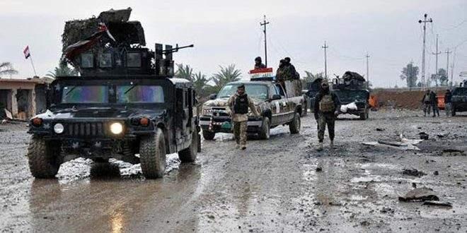 القوات العراقية: ضبط وكر وأسلحة لإرهابيي داعش بمحافظتي ديالى والأنبار