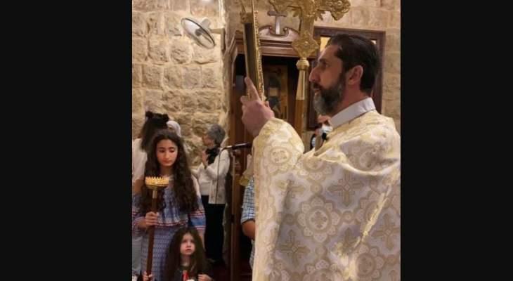الطوائف المسيحية في البلدات الحدودية بقضاء مرجعيون احتفلت بأحد الفصح