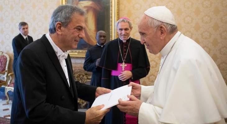 فريد الخازن: التوتر بالعلاقة مع الكرسي الرسولي انتهى وهناك تفهم لخصوصية وضع لبنان