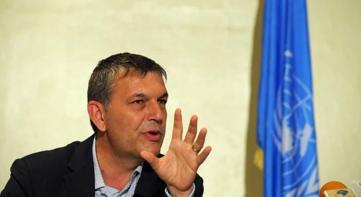 لازاريني: الاصلاحات في لبنان ضرورة ملحة الآن ولا مكان لمضيعة الوقت