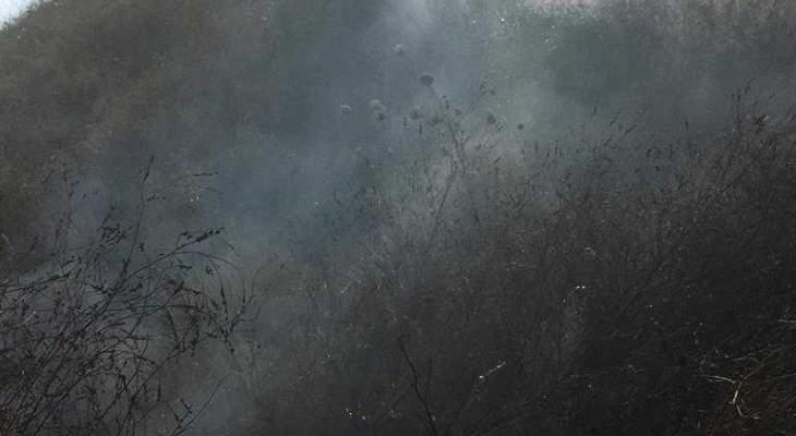النشرة: عناصر اطفاء صيدا اخمدوا حرائق في مجدليون وفي صيدا