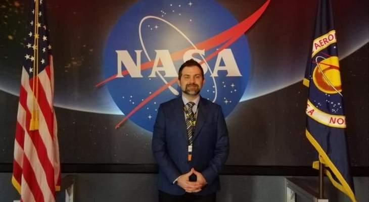 النشرة: اعتماد اللبناني أنطوان طنوس رسمياً كقائد محلي لتحدي تطبيقات الفضاء التابع لوكالة الفضاء ناسا
