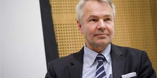الخارجية الفنلندية: نحترم حق الشعب الفلسطيني بإقامة دولته المستقلة