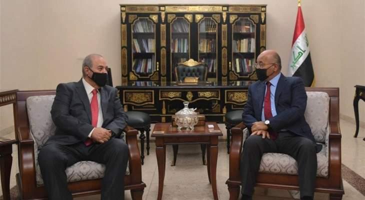 صالح وعلاوي أكدا أهمية ضمان استقلالية العملية الانتخابية بالعراق ونزاهتها