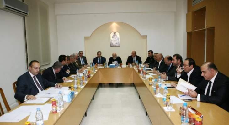البطريرك العبسي: التحدّي الأكبر كيف نكون حاضرين ونتفاعل مع ما يجري على الساحة اللبنانيّة
