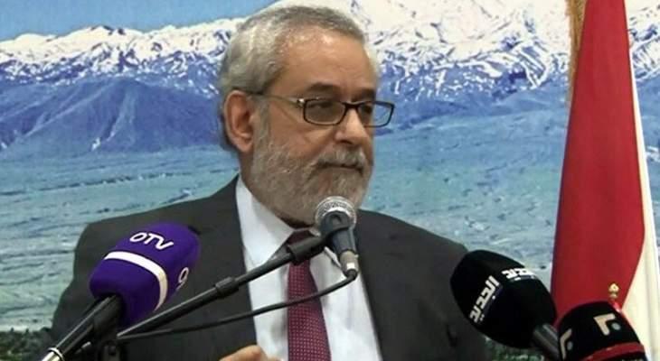 بقرادونيان: اسم كرامي ليس مطروحا الآن وسنسير بالشخص الذي يعطي برنامجا مقنعا للبنانيين