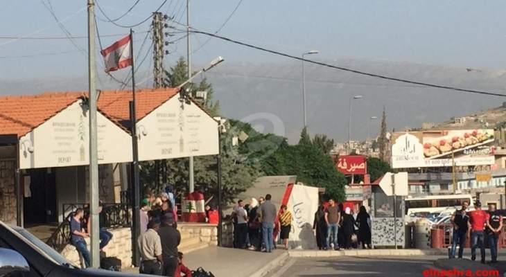 تنسيق لبناني سوري لفتح المصنع والعبودية... ولا موعد محدداً بعد!