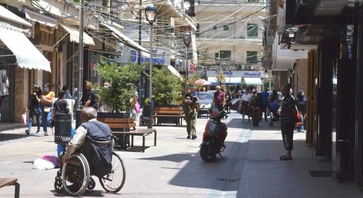 النشرة: تسجيل ازدحام كثيف في صيدا عشية عيد الفطر المبارك