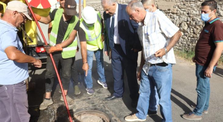 عبود ترأس اجتماعاً للبحث في ازالة الردميات من شوارع بيروت و تفقد ورش تنظيف مجاري المياه