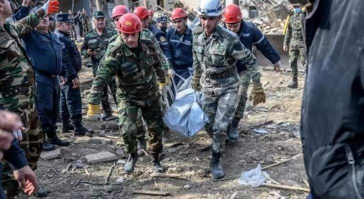 النيابة العامة الأذرية: مقتل 90 شخصا وإصابة 392 منذ اندلاع الاشتباكات في أيلول الماضي