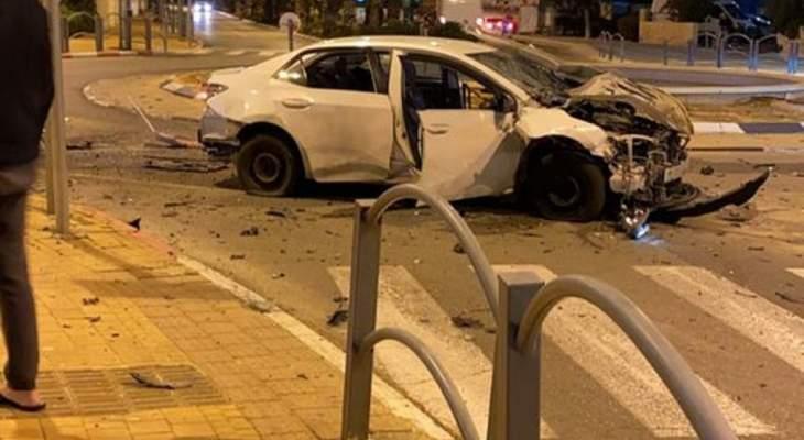 يديعوت أحرونوت: انفجار سيارة في ريشون لتسيون جنوب تل أبيب