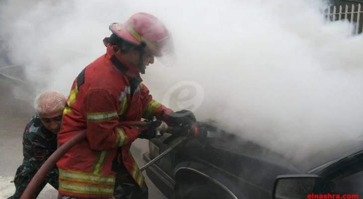 فوج اطفاء برعشيت اخمد حريقا في بلدة يارون