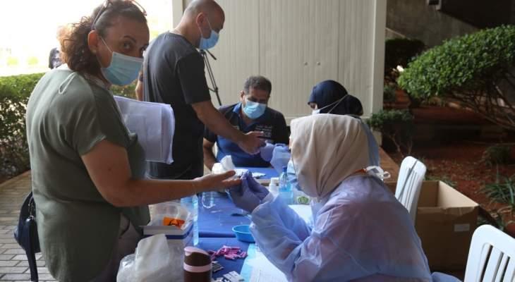 بلدية حارة حريك أجرت فحوصات PCR وrapid test لأفراد ظهرت عليهم عوارض كورونا