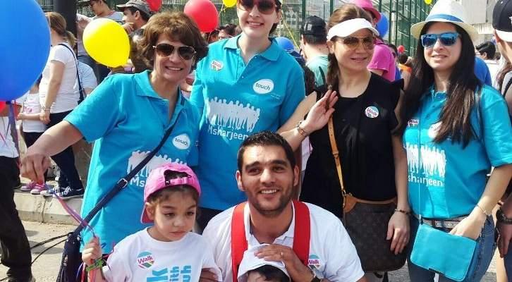 شركة تاتش شاركت في مسيرة الينبوع لدعم ذوي الإحتياجات الخاصة